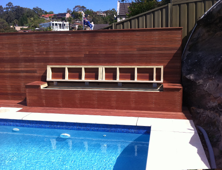 Landscaping Gates Planter Box Day Bed Water Feature